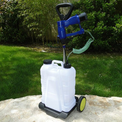 Chariot Mobile + réservoir 15L pour BATI JET'