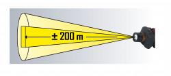 Lampe Frontale LED 3W avec Zoom